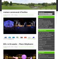 photo panoramique illustrant un site web